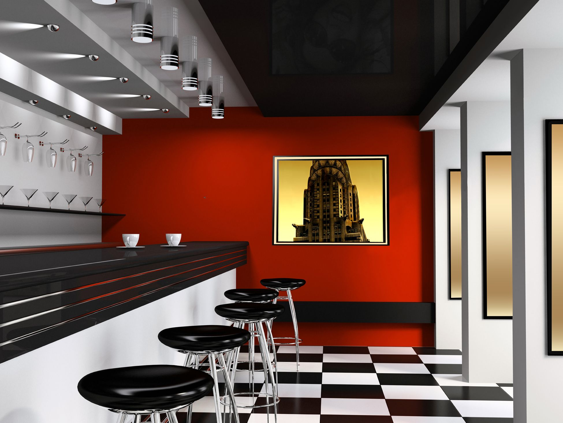Wall art for interior dinerrestaurant art my style my