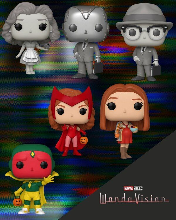 christmas ornament Funko Pop Scarlet Witch Marvel Comics Ornament Superhero Avengers wanda maximoff gift for her gift for him geek gift