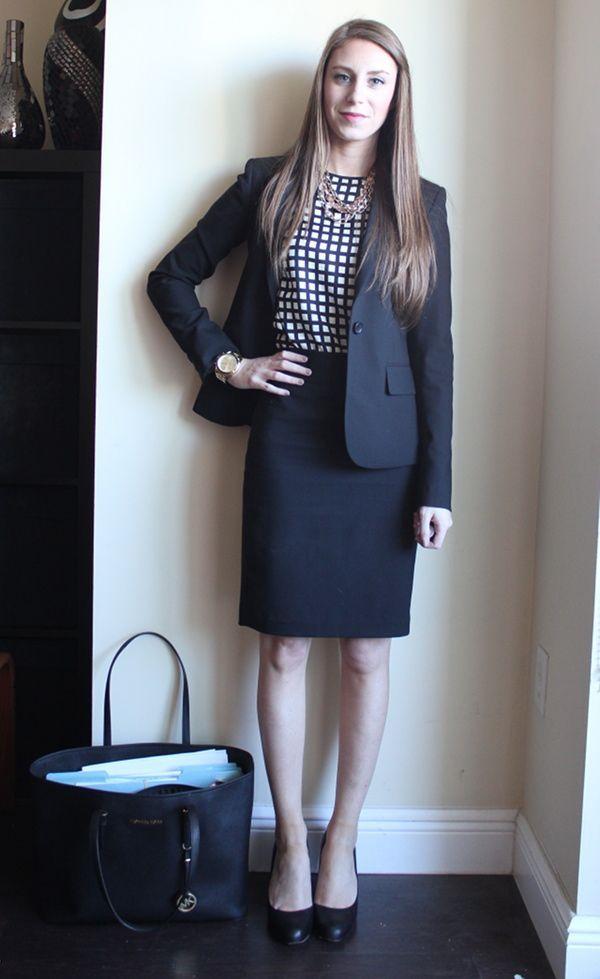 Windowpane Lawyer Fashion Interview Attire Business