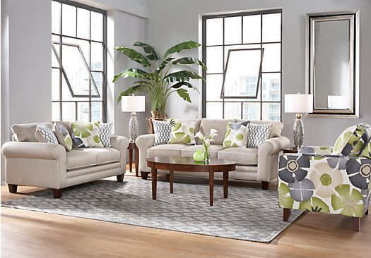lilith pond taupe 7 pc living room other home stuff living room rh pinterest com