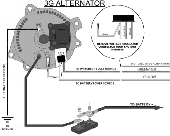 [SCHEMATICS_49CH]  27 Ford Alternator Wiring Diagram Internal Regulator -  bookingritzcarlton.info | Alternator, Repair, Motorcraft | Internal Alternator Regulator Wiring Diagram |  | Pinterest