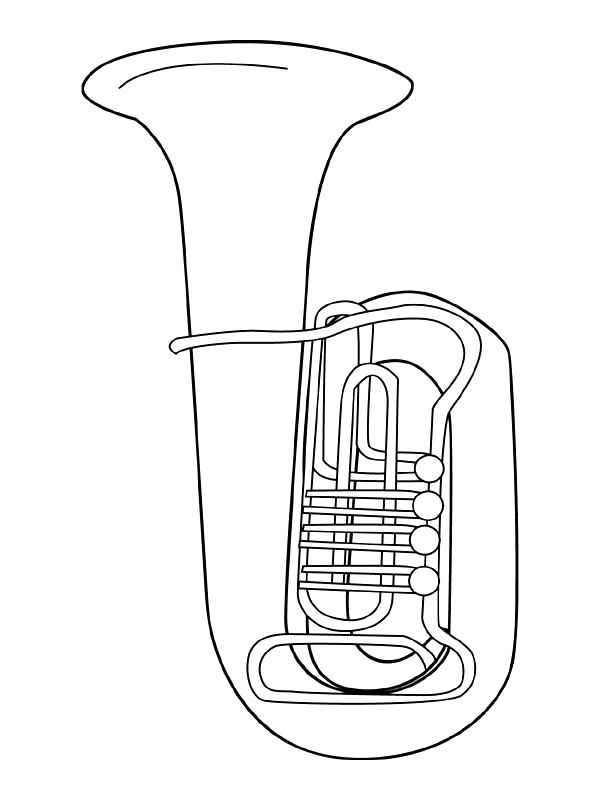 Coloring page Musical Instruments Musical Instruments on Kids-n ...