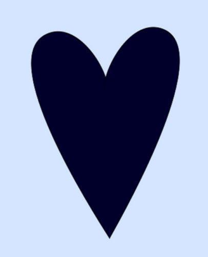 Heart Stencil Primitive Hearts Stencils Craft New Sbook Template 6 X 5