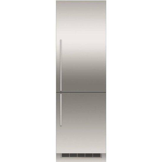 Fisher Paykel 24 Single Door Bottom Freezer Panel Stainless Steel Rd2470br Best Buy Refrigerator Panels Bottom Freezer Bottom Freezer Refrigerator