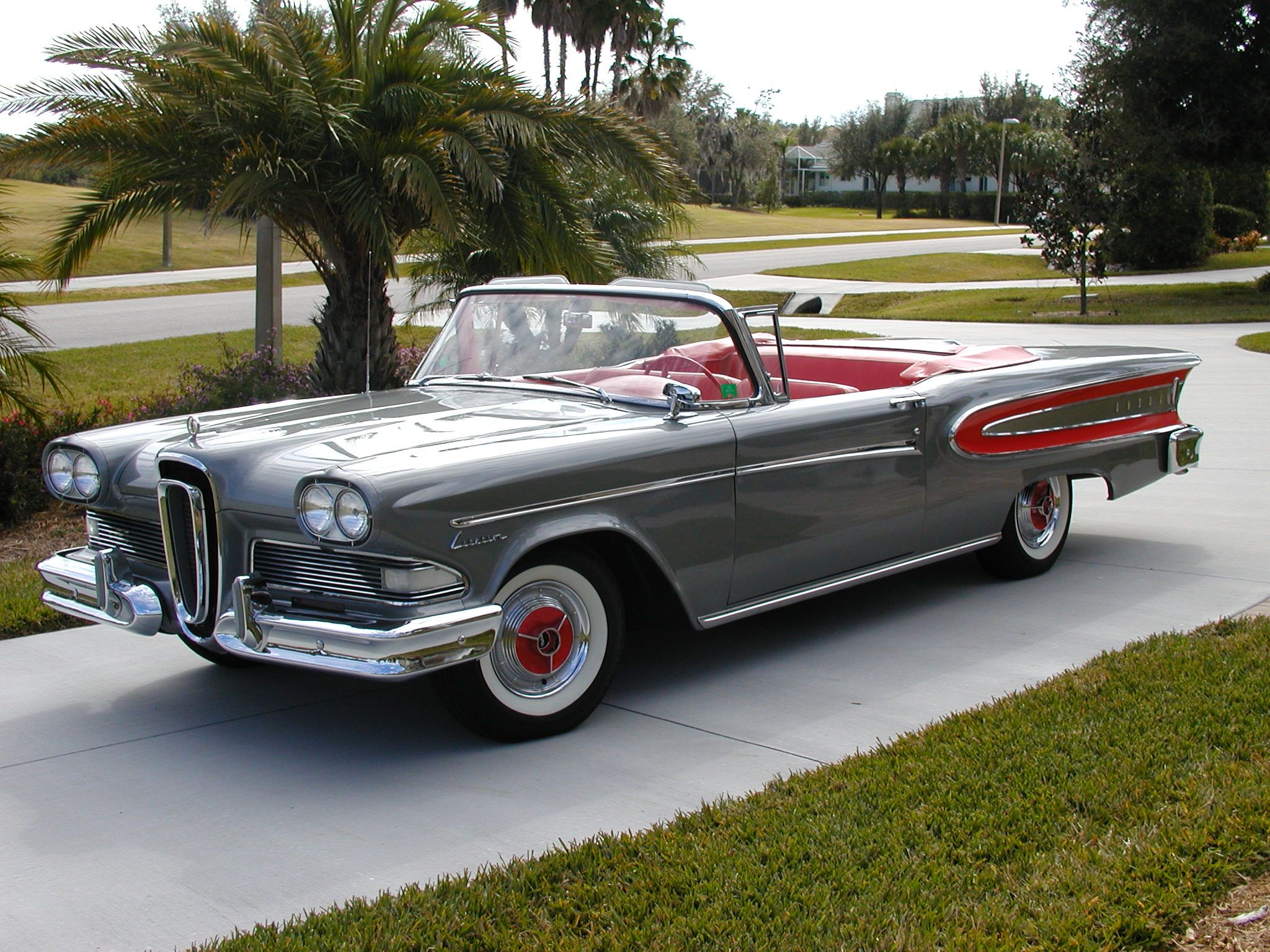 Edsel Converted: 1957 Ford Fairlane Skyliner   Bring a Trailer