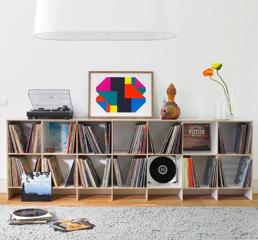 Captivating Wir Liefern Ihnen Schnell Ein Individuelles Schallplattenregal, Ob Für  Kleine Oder Große Vinyl Sammlungen. Die Regale Sind Aus Echtholz Und  äußerst Stabil.