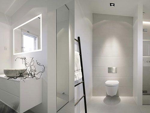 witte badkamer - google zoeken - inspiratie nieuwe huis, Badkamer