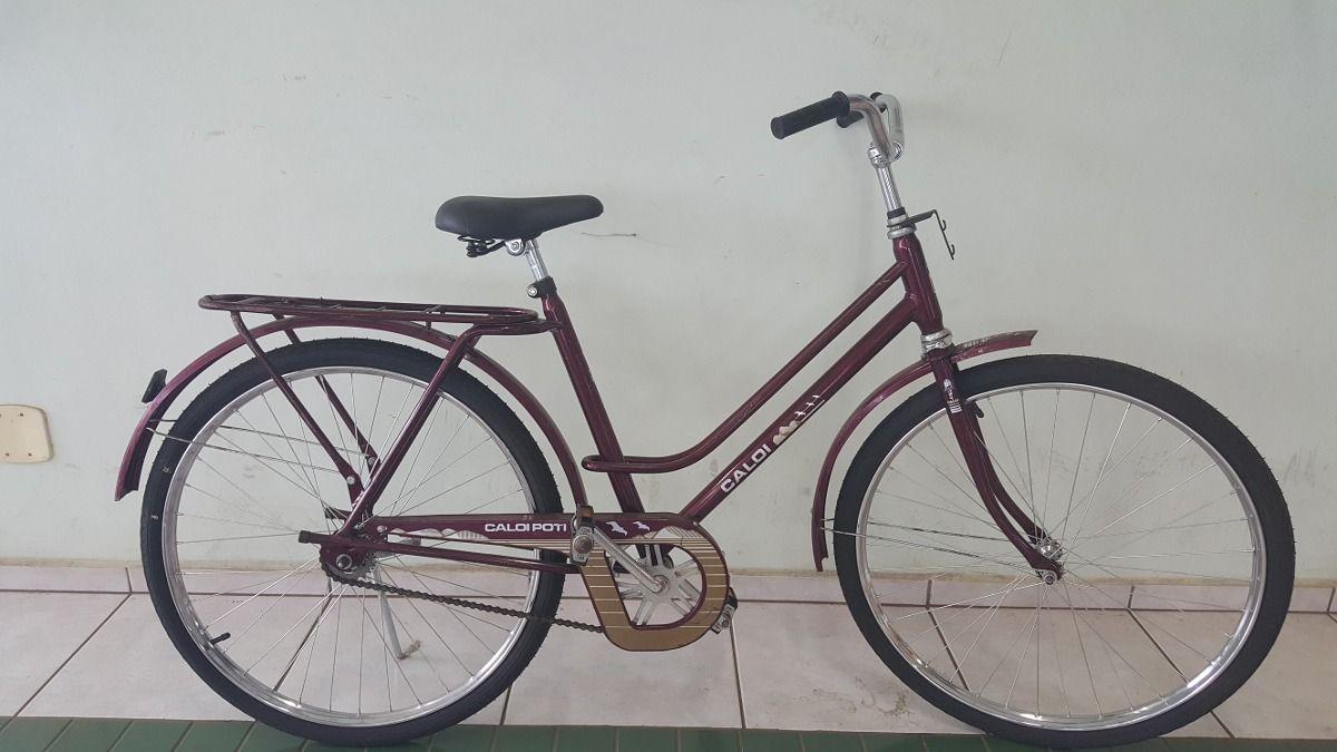 5a5b5bbe4 Bicicleta Antiga Caloi Poti Original. - R  450