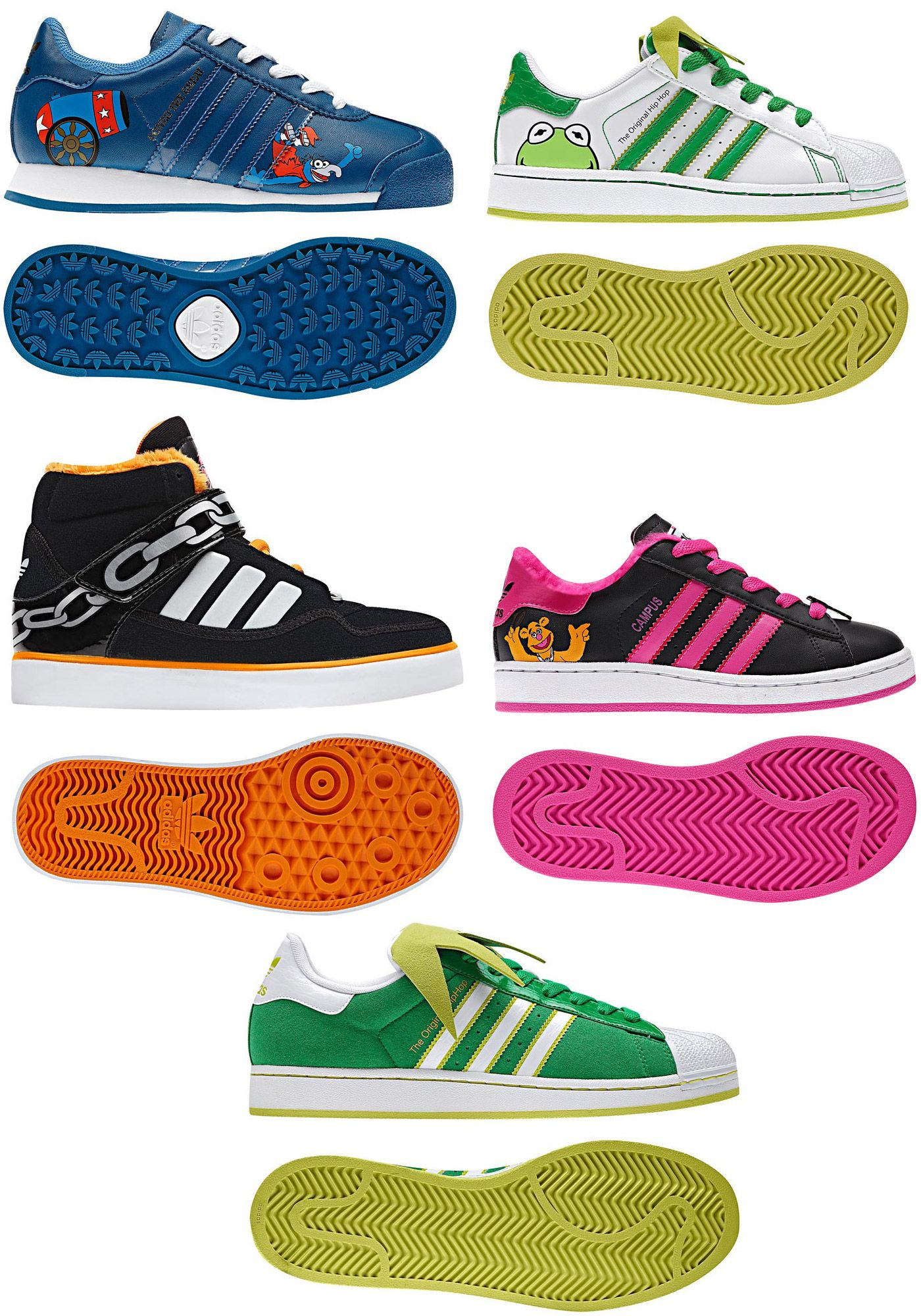 Zapatos Muppets Style Adidas3465My Colores Y 2ID9EH