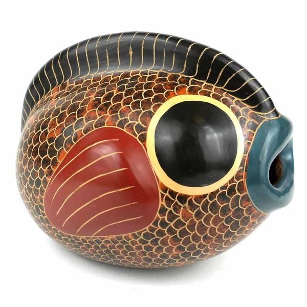 6 Inch Fish Vase For Home Decoration And For Pottery Gift Ideas For