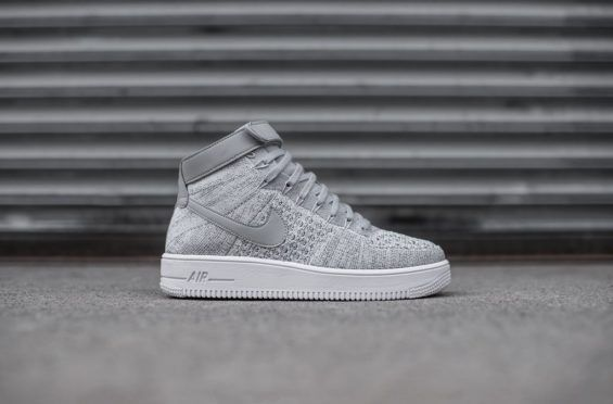 The Nike Air Force 1 Ultra Flyknit Mid