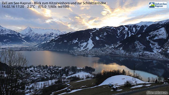 Webcam Zell am See vom Mitterberg, LIVE: http://bit.ly/webcamsalzburg