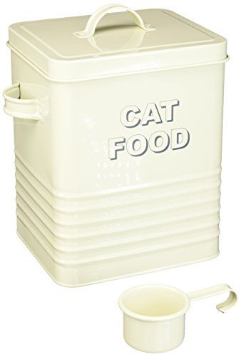 The Leonardo Collection Lp22218 Sweet Home Cream Cat Food Storage