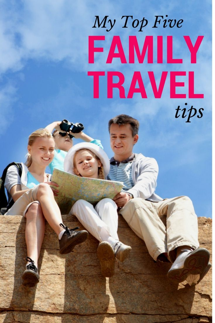Top 5 Family Vacation Travel Tips   Stuffed Suitcase ...