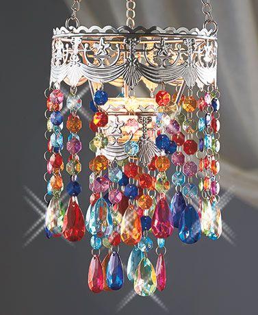Tea light chandeliers colorful pinterest chandeliers lights tea light chandeliers aaawwww aloadofball Gallery