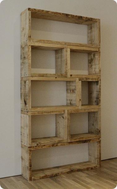 Modern Pallet Bookcase Crafts Diy Pinterest Diy Furniture