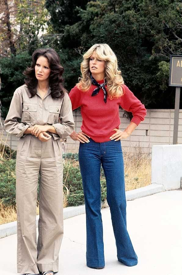 9 Style Lessons From The Original Charlie S Angels 70sfashion In 2020