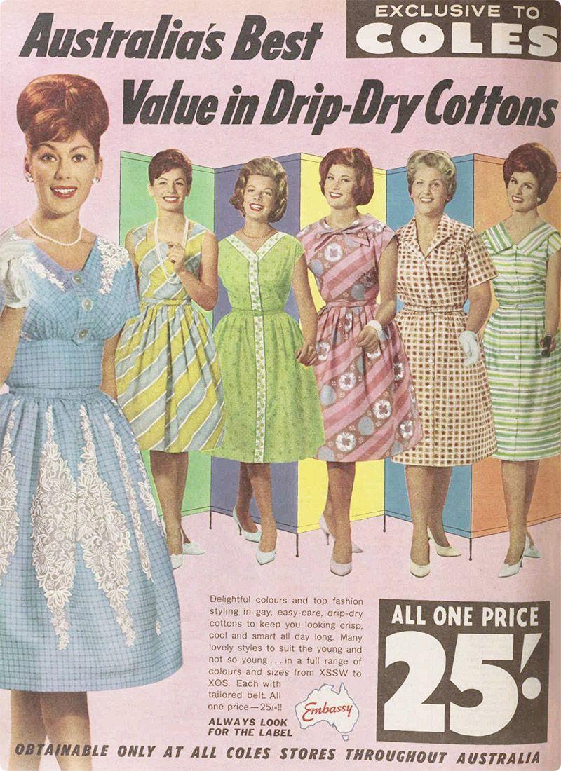 Vintage style clothes australia for Innenarchitektur 1960