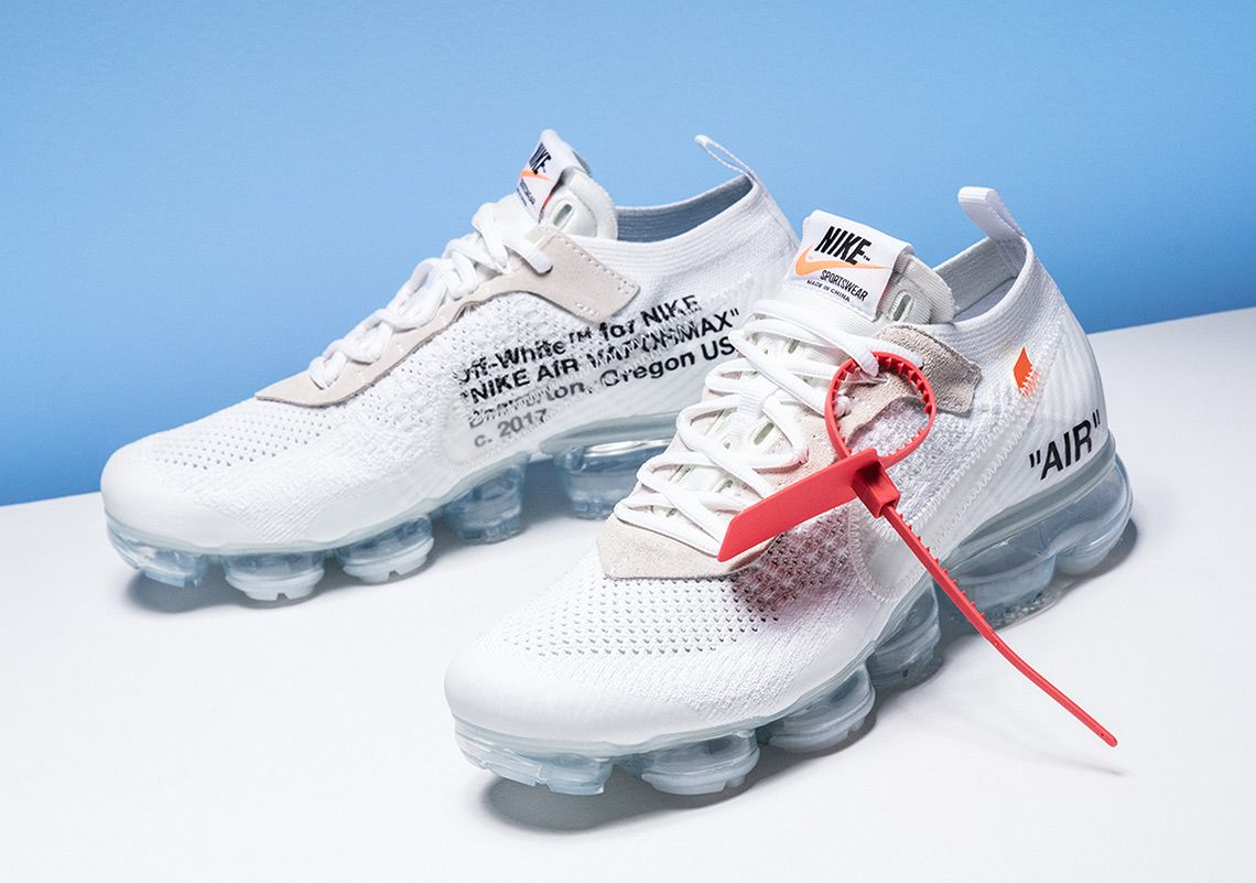 jalea A la verdad Delgado  OFF WHITE x Nike Vapormax White Stadium Goods | SneakerNews.com | White  nike shoes, Sneakers men fashion, Off white shoes