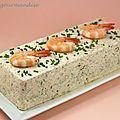 Terrine de Saint-Jacques, saumon et crevettes à la crème citronnée - Péché de gourmandise #salmonrecipes Terrine de Saint-Jacques, saumon et crevettes à la crème citronnée - Péché de gourmandise                                                                                                                                                                                 Plus #terrinedesaumon