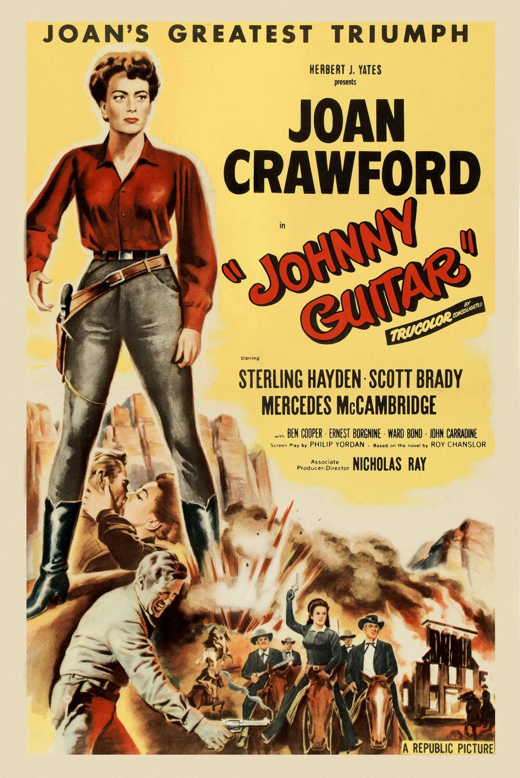 I can picture it and i want to play it thanx for listening. Johnny Guitar (1954)   Nicholas ray, Joan crawford, Joan ...