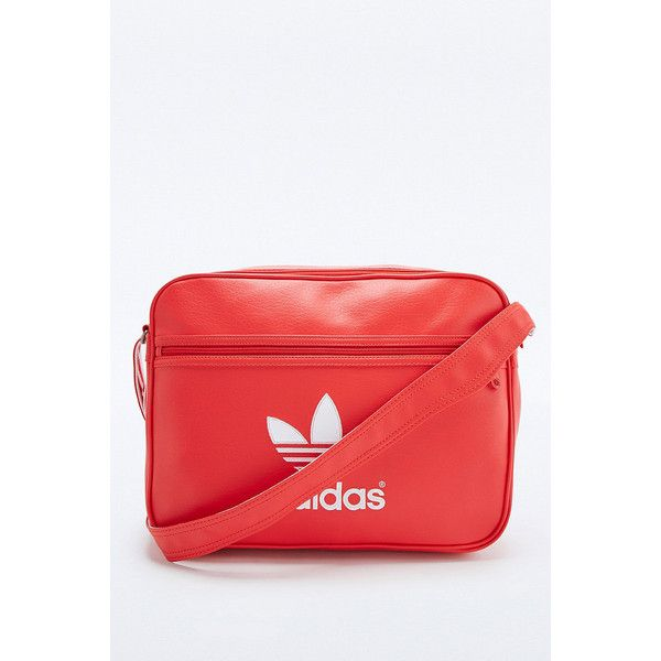 bb0b8267bd2 adidas Originals Classic Red Airliner Bag (€66) ❤ liked on Polyvore  featuring bags, red, messenger bag, adidas originals bag, strap bag, red bag  and ...