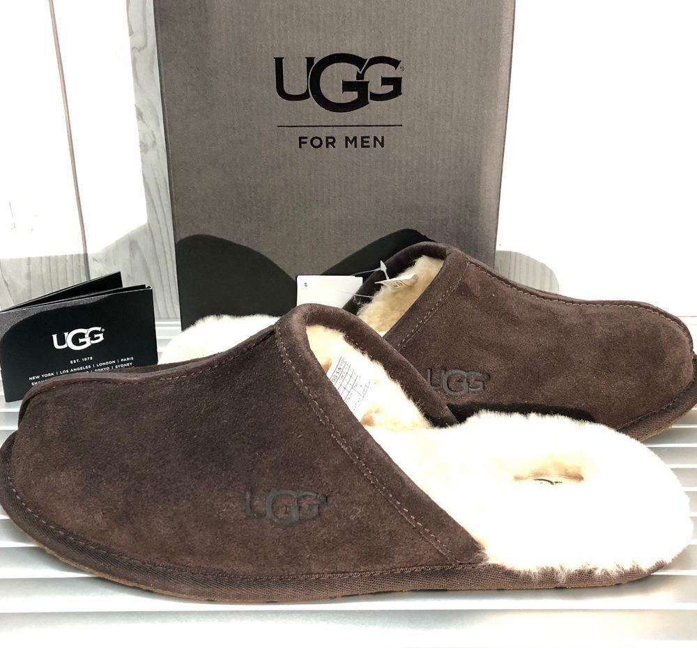 0fe641ab8b6be Brand New UGG AUSTRALIA MEN'S SCUFF Authentic Slippers 1101111 ...