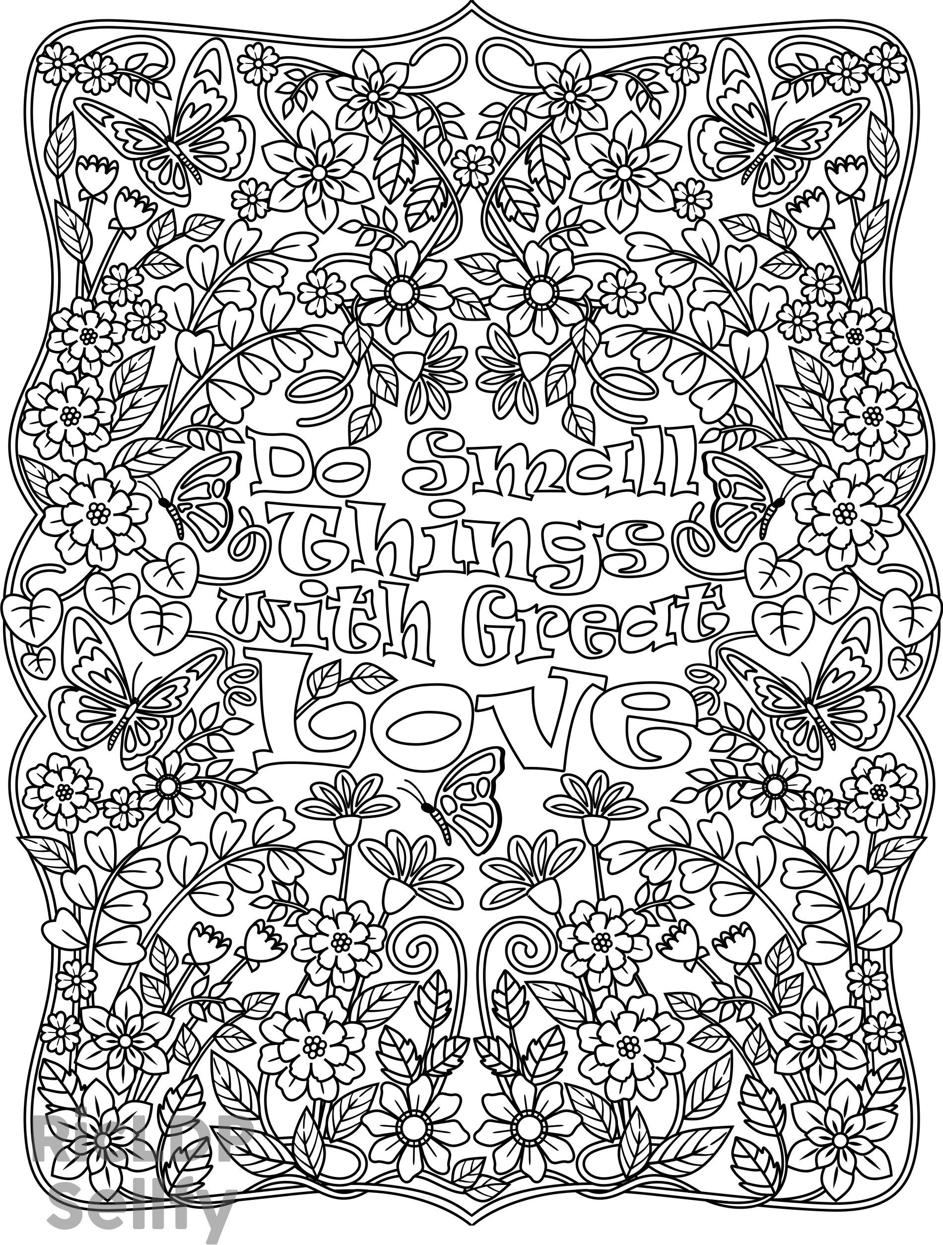 detailed coloring page for adultsit includes one printable pdf