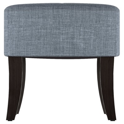 antonio 46 wide bench blue grey corliving blue grey bench and rh pinterest com 2017 Ford Fusion Interior Colors 2017 Color Trends Interiors Home