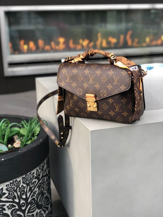 The Louis Vuitton Pochette Metis - one of the most beautiful LV crossbodies. Check out the list of the best LV crossbody bags at FifthAvenueGirl.com #lv #LouisVuitton #PochetteMetis