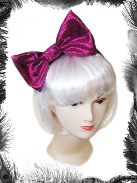 Shiny pink big hair bow bows pinterest big hair bows hair shiny pink big hair bow urmus Choice Image
