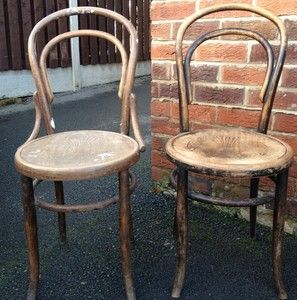 2 X Fischel Bentwood Chairs Ebay 10 Pounds For The Two Bit