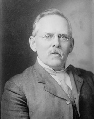 "A portrait of Jacob Riis, an early photojournalist, who exposed the living conditions of the poor in New York City by pairing his photographs of working men, women, and children with stirring descriptions and statistics of poverty.  ""Jacob A. Riis, a Portrait."" Library of Congress. From http://www.neh.gov/news/jacob-riis-and-the-other-half"