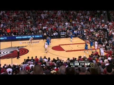 Roy Puts Blazers On His Shoulders To Tie Up The Series Youtube In This Moment Brandon Roy Nba Tv