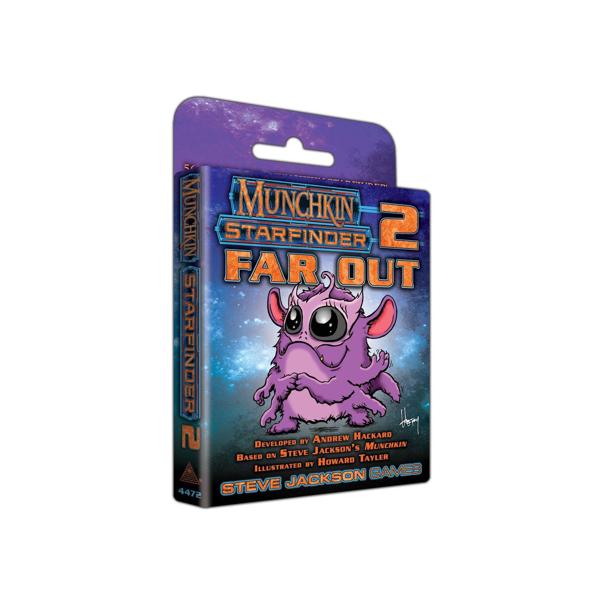 Munchkin Starfinder 2 Far Out Board Game Board Games Games