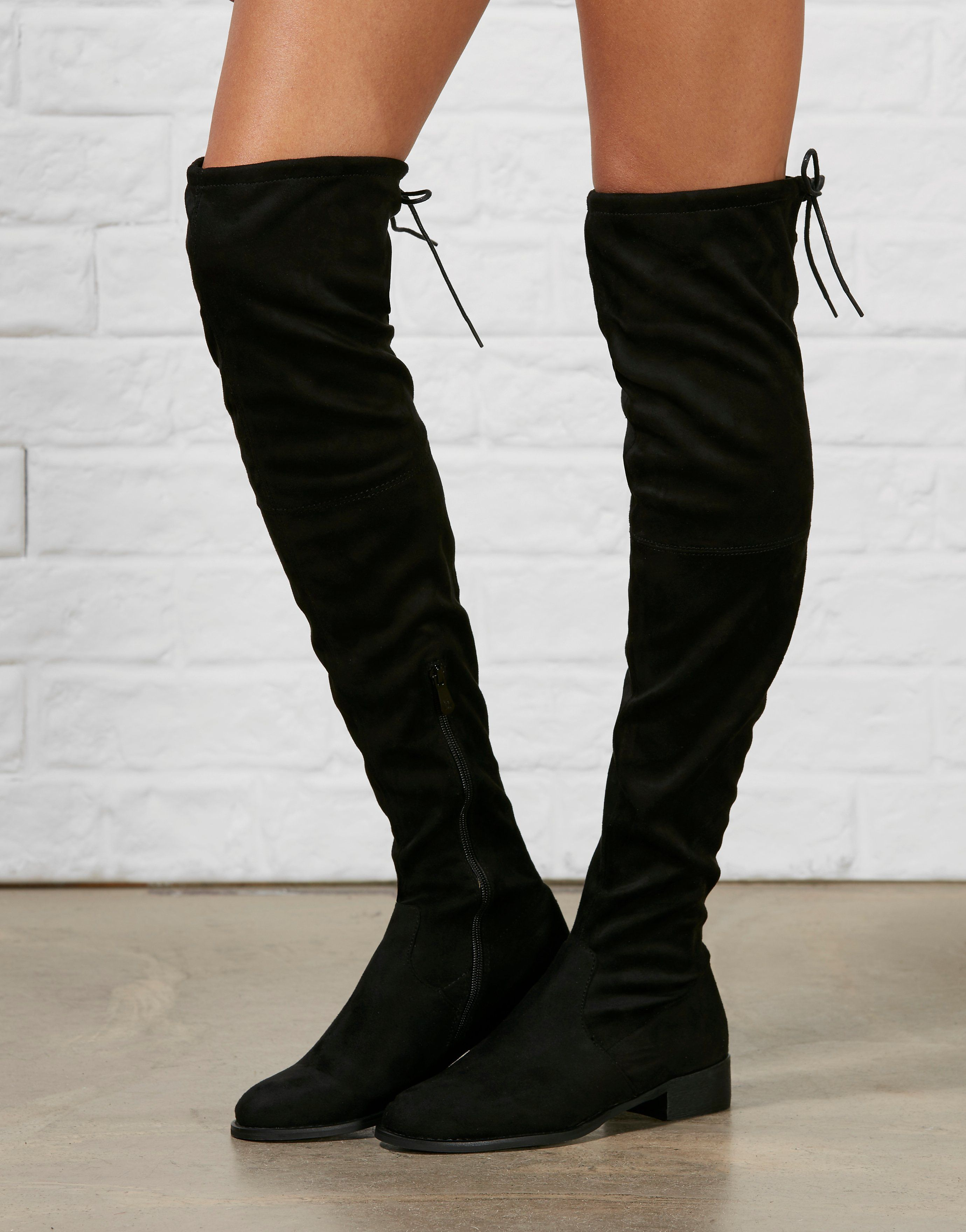 Ark Elle Knee High Boots - A unique streetstyle store stocking own ...