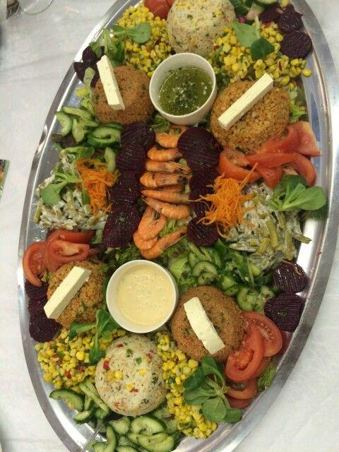 1 Gang Salat  Marokkanisches Hochzeitsessen  salade
