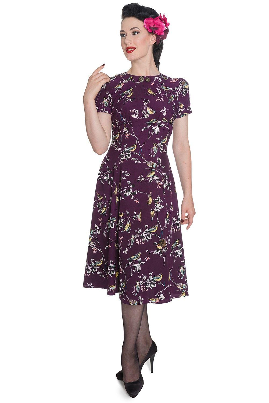 Elegante vestido de la firma Hell Bunny estilo retro,ya disponible ...