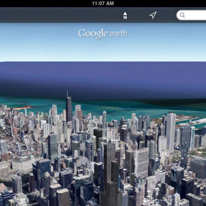 Google Earth for iOS Gets Street View Earth, Street view