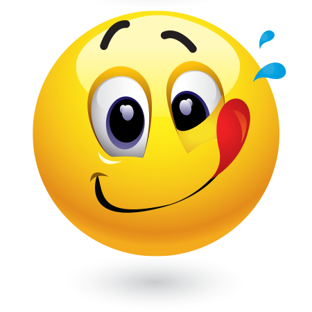 mmm mmm good smiley facebook and smileys rh pinterest com Winking Smiley Face Clip Art Sick Smiley Face Clip Art
