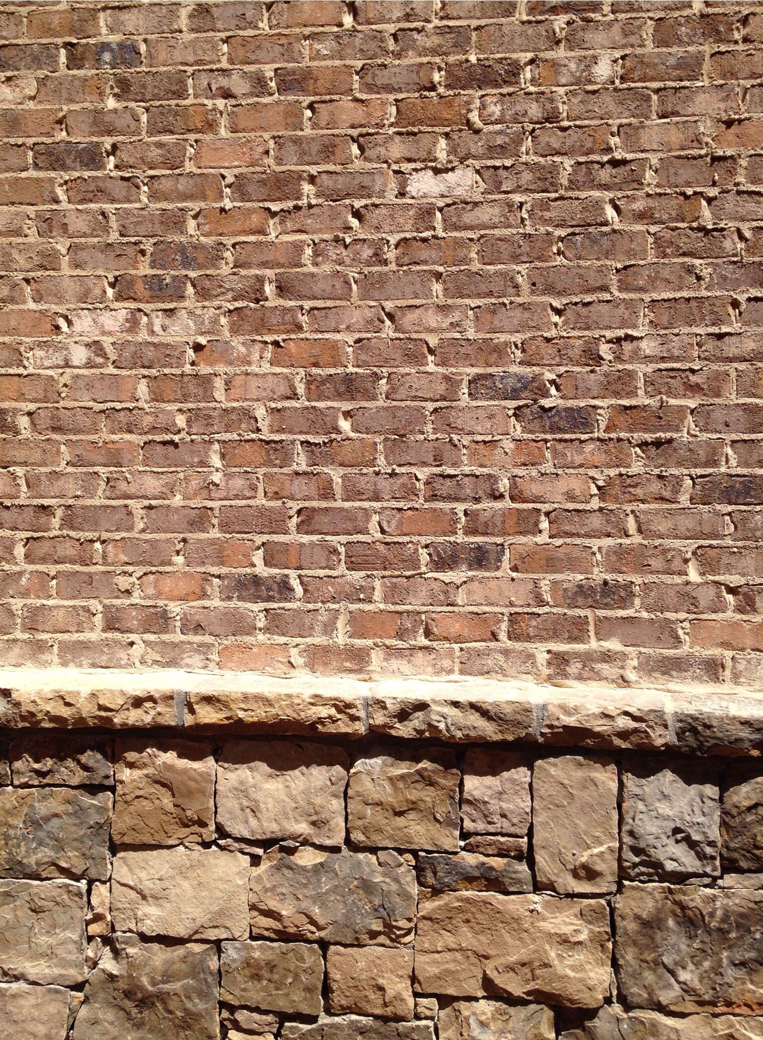 Brick Kiawah Mortar Coosa Anti Buff Brick Stone