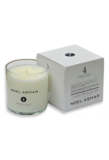 Noel Asmar is now making home goods, just in time for the holidays! Make your tack room smell amazing with the No.4 Tobacco Vanilla Scented Candle.