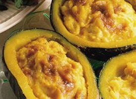 Twice Baked Squash Recipe With Images Squash Recipes Baked Squash Food Recipes