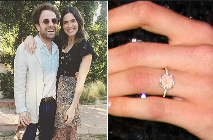 Mandy Moore Engagement Ring Celebrity Engagement Rings Dream