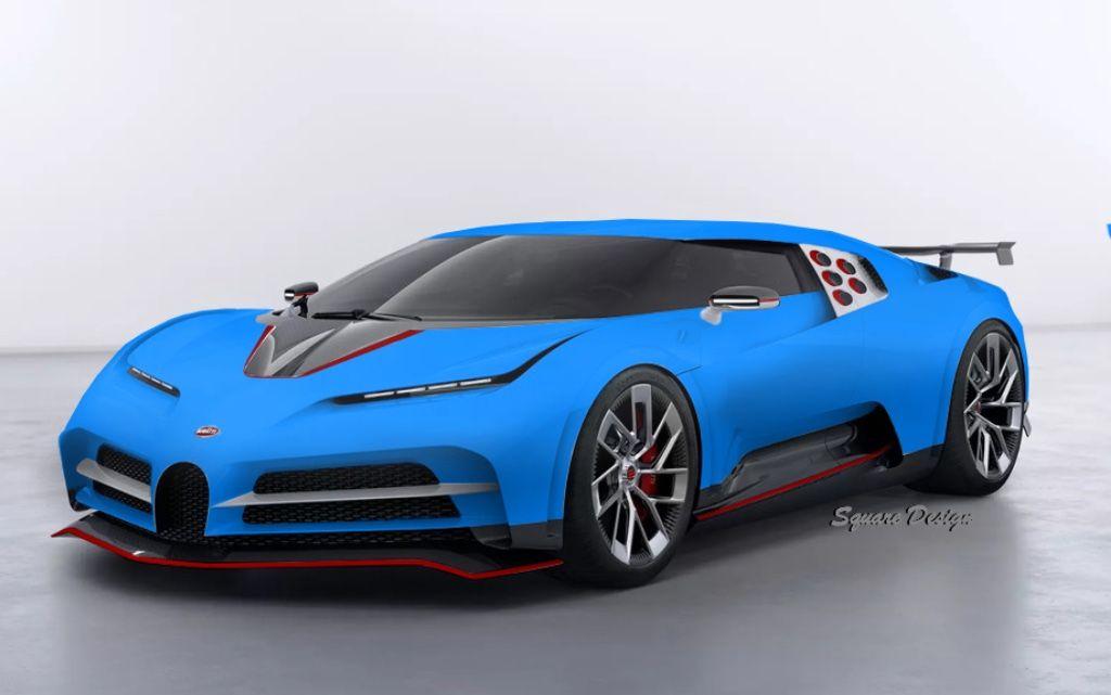 Bugatti Centodieci Livery Design By Square Design With