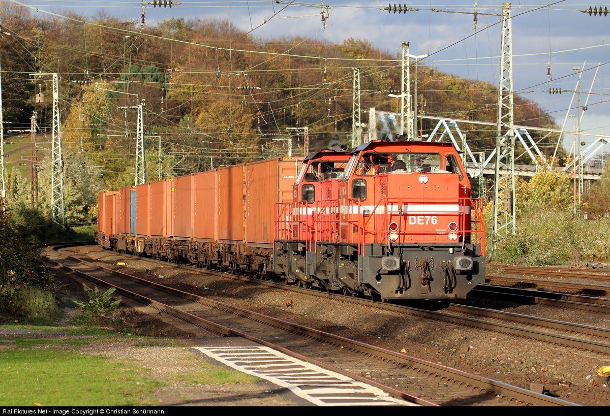 RailPictures.Net Photo: DE 76 HGK Häfen und Güterverkehr Köln BR 272 at Cologne, Germany by Christian Schürmann