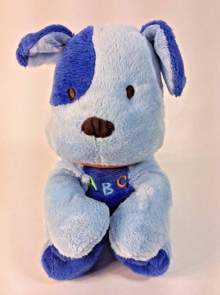 Child Of Mine Blue Dog Singing Abc Plush Stuffed Animal Alphabet 8