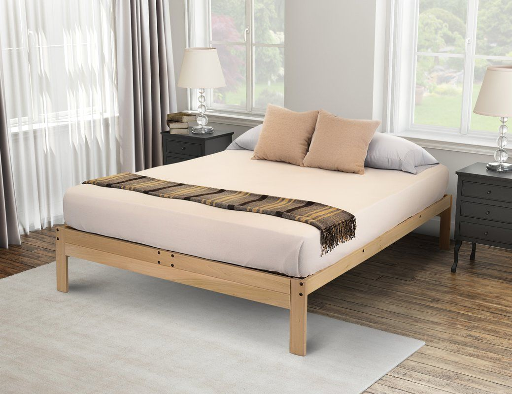 Wynter Platform Bed Wood Platform Bed Platform Bedroom Bed Frame