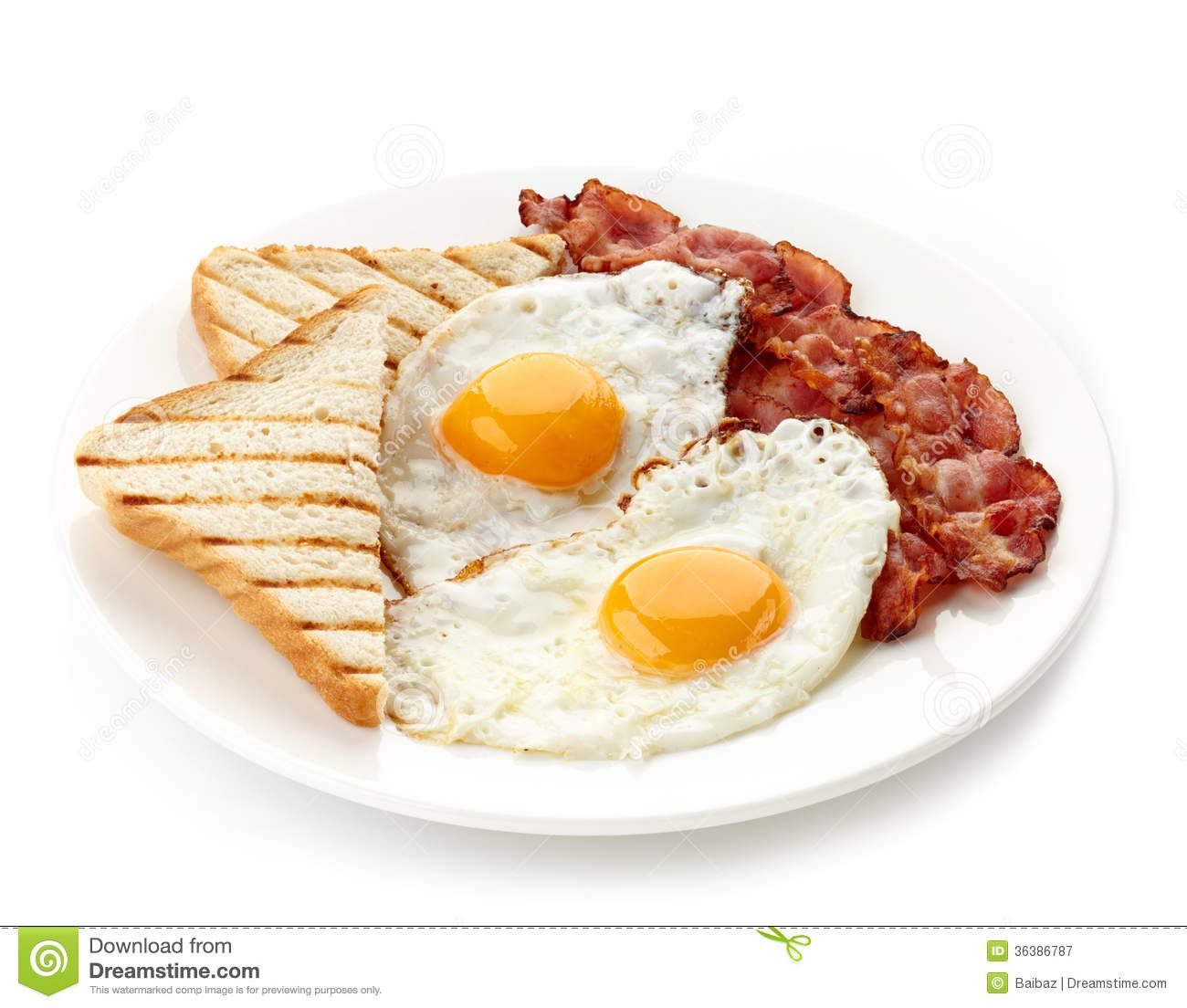 breakfast-fried-eggs-bacon-toasts-plate-isolated-white-background-36386787.jpg (1300×1104)