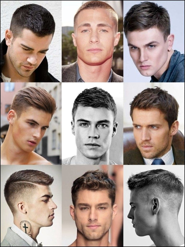 Type Of Haircuts For Men Men S Hairstyles Pinterest Haircut Styles